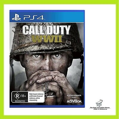 Call Of Duty WWII Playstation 4 (PS4) Game Brand New Sealed Australian Stock