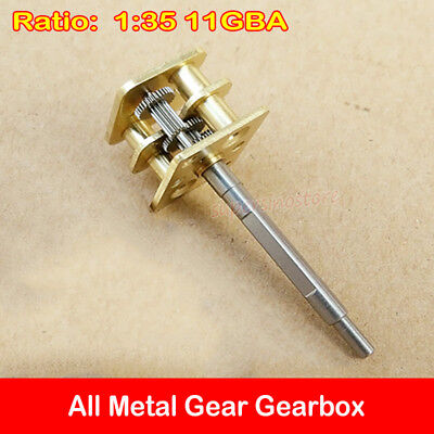 1:35 Ratio Full Metal Gearbox Precise Gear Reducer Speed Reduction for 050 Motor