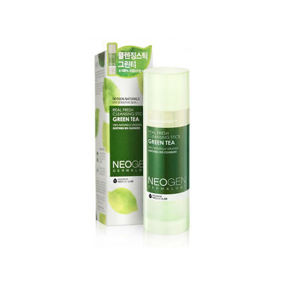 [NEOGEN] Dermalogy Real Fresh Cleansing Stick Green Tea 80g Korea Beauty