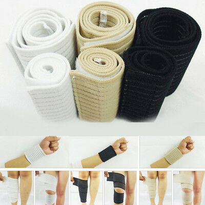 Adjustable Elastic Knee Elbow Wrist Band Bandage Protect Compression Sport Tool