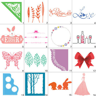 Heart Lace Cutting Dies Metal Stencil DIY Scrapbooking Album Paper Card Love Art