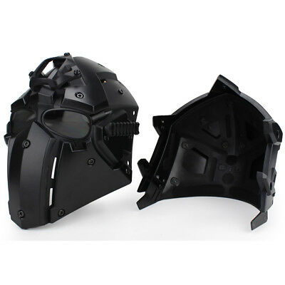 Tactical Helmet CF Game Full Face Goggle Mask Airsoft Paintball Protective Gear