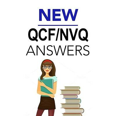 ALL 19 UNITS OPTIONAL NVQ QCF 3 Health and Social Care (Adults) Answers