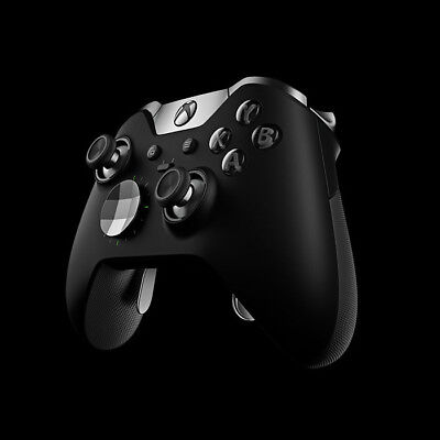 Microsoft Xbox One Elite Wireless Controller, Black, HM3-00001 NEW