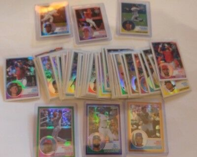 2018 Topps Update Series Silver Pack Chrome Retro 1983 You Pick UPick List Lot