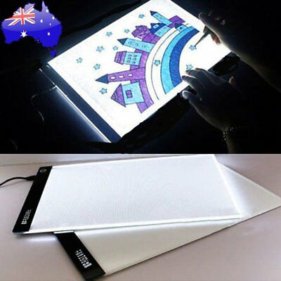 A2 A3 A4 LED Artist Thin Art Stencil Board Light Box Tracing Board SE