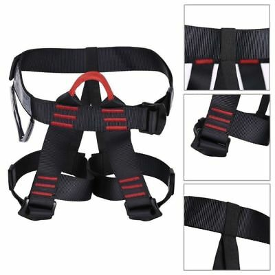 Half Body Safety Rock Tree Climbing Rappelling Harness Seat Sitting Bust Belt US