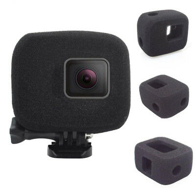 Action Camera Cap Cover Windshield Foam Wind Slayer For Gopro Hero7 6 5 Case New