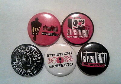 "5 x Streetlight Manifesto 1"" Pin Button Badges ( ska punk everything goes numb )"