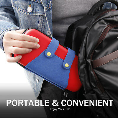 NEW Mario Bag Travel Protective Storage Nintendo Switch Accessories Carry Case