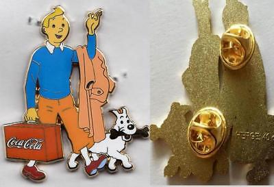 Pins Grand Pin's Tintin Coca Cola