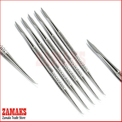 Set Of 5 Zahle Carver Wax & Modelling Mixing Instruments Dentistry Surgical Labs
