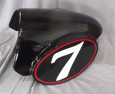 Genuine Moto Guzzi V7 Racer Seat Tail Saddle Cover Panel Black 88673200Y02