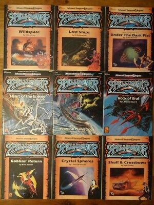 Spelljammer choose from different Modules good to very good condition (AD&D, TSR