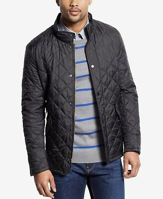 Barbour Men's Flyweight Chelsea Jacket Black Size Large NWT!
