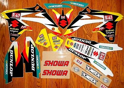 TEAM YOSHIMURA SUZUKI RMZ250 GRAPHICS KIT  ( 2010 to 2017 ) N40-4671 60% Off!