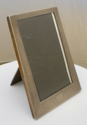"Photograph Frame; 6 ½"" Good Quality English Silver B.1927"