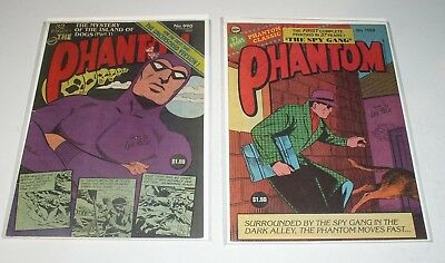 PHANTOM #990 and #1008    TWO (2) FREW Australian SPY GANG & ISLAND OF DOGS