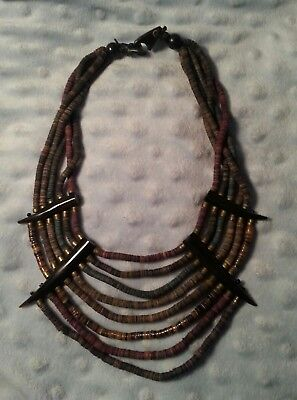 Mummy Beads Necklace 8 Strands Rameses Collection Memphis, TN Exhibition
