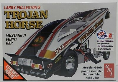 Mustang Ford Ii 2 Funny Car 1976 Trojan Horse Pony Nos Sealed Amt Model Kit