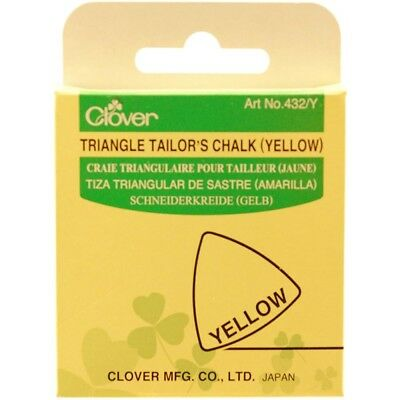 Clover Triangle Tailor's Chalk-yellow - Tailors Chalk Yellow Chalkyellow