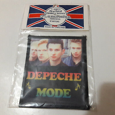 Vintage   DEPECHE MODE    Unused  80s PATCH     synth pop electronic