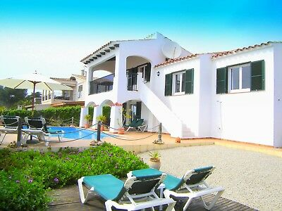 Villa In Menorca, Spain, Swimming Pool, Breathtaking Sea Views. May 13Th-20Th