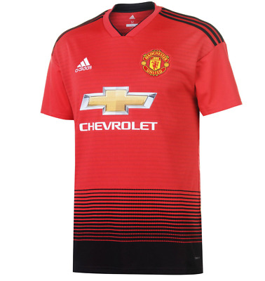 Manchester United Home Shirt 2018/19 Small, Medium, Large, Extra Large and XXL