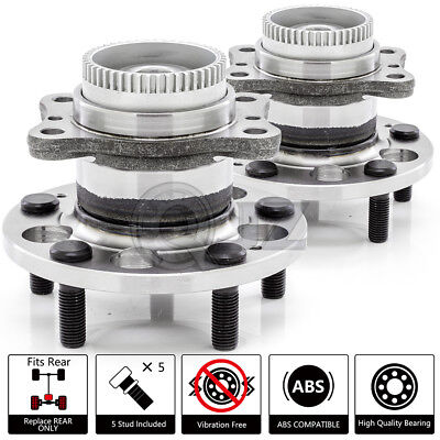 Note: FWD One Bearing Included with Two Years Warranty 2009 fits Saturn Astra Rear Wheel Bearing and Hub Assembly