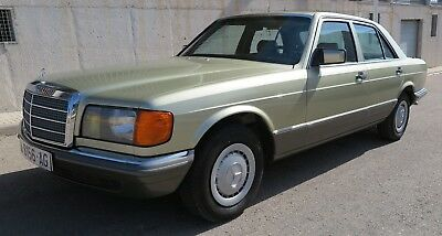 MERCEDES-BENZ 280SE W126 MANUAL 1983 NACIONAL - 2.8 156cv - ESTADO IMPECABLE
