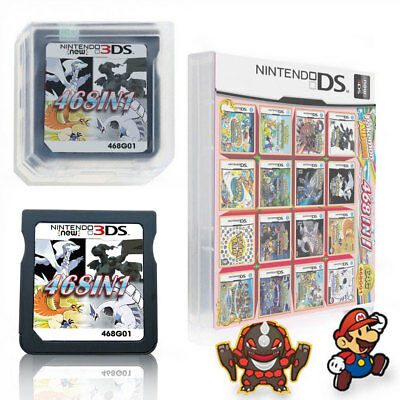 Video Game Card For NDS NDSL 2DS 3DS NDSI 468 In 1 fit All Version