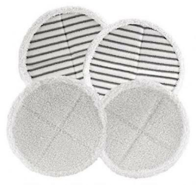 4 Pack Mop Pads for Bissell Spinwave 2039A 2124 Powered Hard Floor