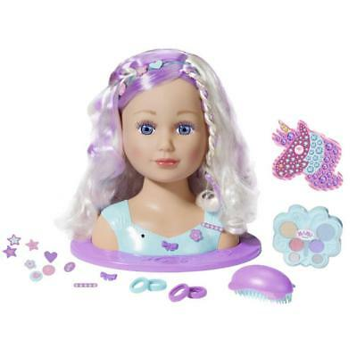 Baby Born Sister Styling Head Fairy *  New  * Deluxe Hair & Make Up
