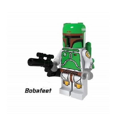 Mini Figurine NEW Fits  Star Wars  BOBA FETT