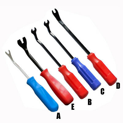 Car Door Upholstery Trim Clip Remover Plastic Fastener Removing Tool 5 Size Set