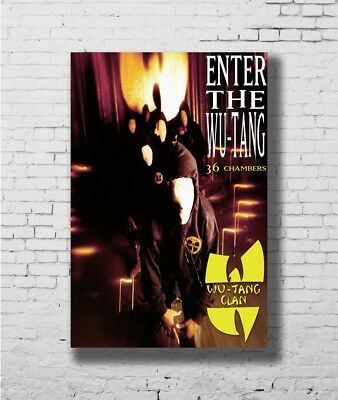 Y945 Wu Tang Clan Hip Hop Rap Music Hot Poster 14x21 24x36 27x40IN