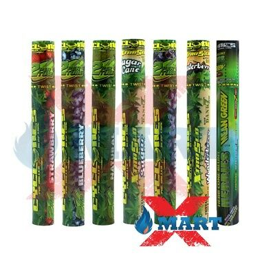 7x Cyclones Hemp VARIETY PACK Flavored Pre-Rolled Cone Wraps Tubes - 11 CONES!!