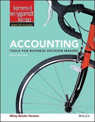 Accounting 6th: Tools for ... Decision Making - Searchable PDF - 24hr Delivery