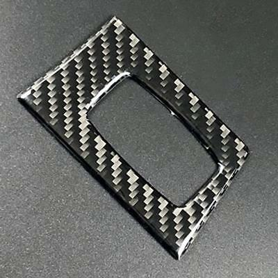 Car Carbon Fiber One-key Start Hole Circle Sticker For BMW E90 E92 Old Series 3