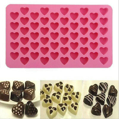 Silicone Cake Mold Ice Tray Pudding Makers Cube Chocolate Star Heart Styles
