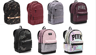 4d33f9d9691 VICTORIA S SECRET PINK Campus Collegiate Backpack (Choose Your Color ...
