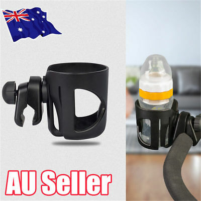 Baby Stroller Pram Cup Holder Universal Bottle Drink Water Coffee Bike Bag JW