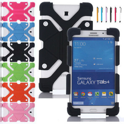"""AU Kids Shockproof For Lenovo Tab E8 TB-8304F 8"""" Tablet Soft Silicone Case Cover"""