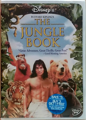 The Jungle Book (DVD, 2002) NEW SEALED RARE OOP DVD!