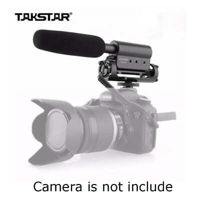 TAKSTAR SGC-598 Photography Interview Shotgun Microphone for Nikon Canon By USPS
