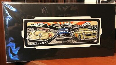 Disney Parks Pixar Cars Rise of The Rookie Deluxe Print Max Grundy New & Sealed