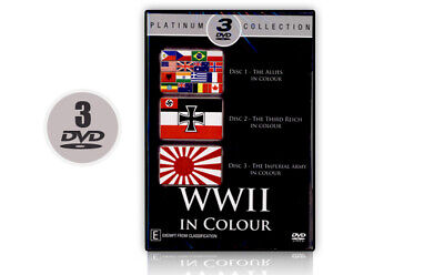 WWII in Colour - Platinum 3 DVD Collection