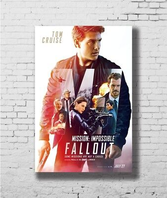 24x36 14x21 Poster Mission:Impossible - Fallout 2018 Movie Tom Cruise Art P-1910