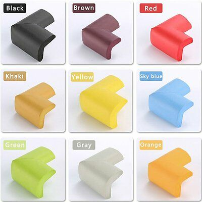 12PCS Baby Safety Edge Desk Table Rubber Foam Furniture Corner Protector Guard Q