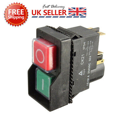 On+Off Switch Fits BELLE MINIMIX150 Cement Concrete Mixer240V Electric AFK Small